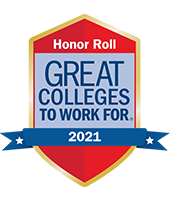 great colleges to work for 2019 badge