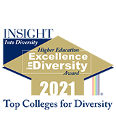 higher education excellence in diversity 2019 badge