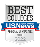 us news and world report best regional university 2020 badge