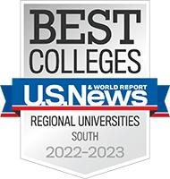 us news and world report best regional university 2020 badge