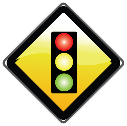 Image of a traffic light.