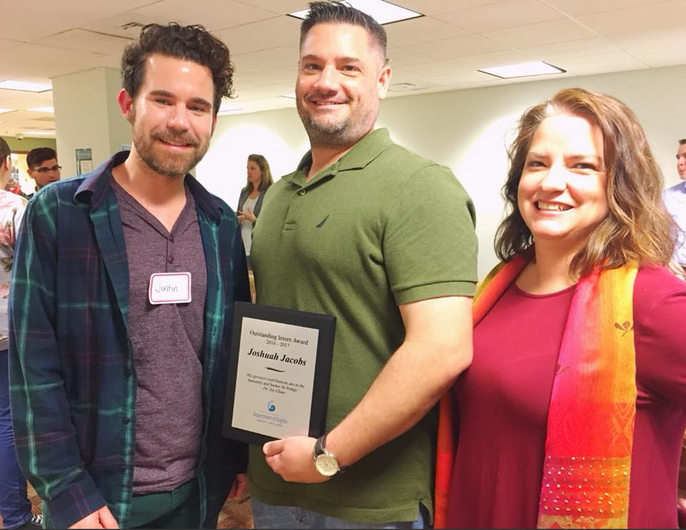 At the 2018 Intern Fair, Joshua Jacobs was awarded our first Outstanding Intern Award for his work with the Mistory Podcast.