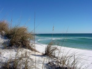 image of beach with view of Gulf of Mexico