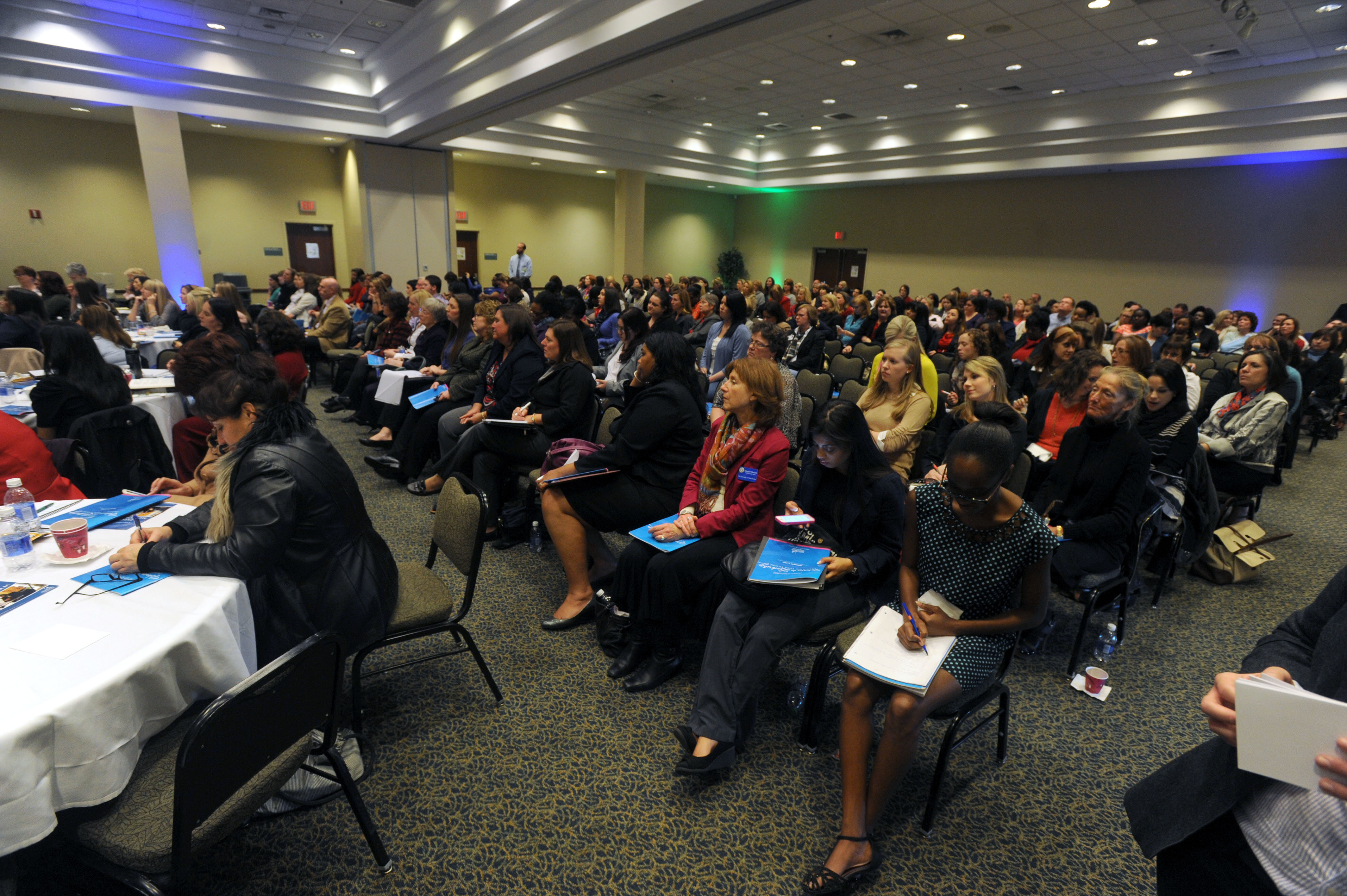 image of 2014 Women in Leadership Conference attendees