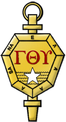 The logo for Gamma Theta Upsilon