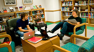 Library Students