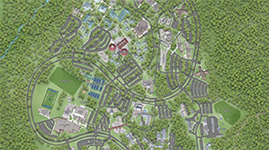 Image of the UWF Campus Map